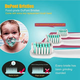 Electric Toothbrush with 3 Brush Heads Oral Hygiene Health Products