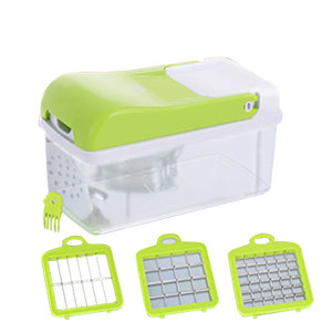 Vegetable Chopper, Kitchen Veggie Fruit Dicer Slicer, Food Cutter