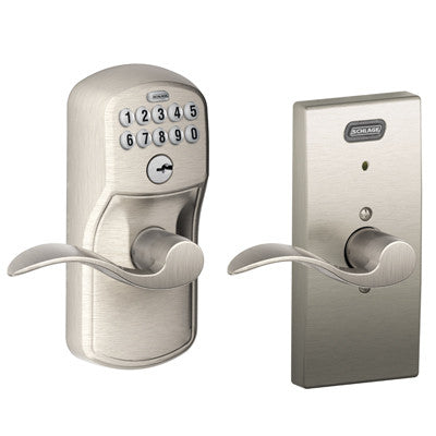 Schlage Century Collection With Accent Lever Fe576 Acc