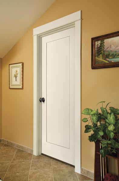 Jeld wen madison molded wood composite all panel interior for All wood interior doors