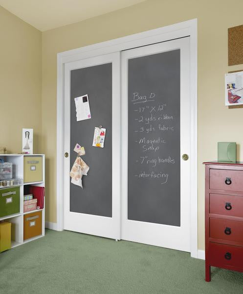 Jeld Wen Magnetic Chalkboard Molded Wood Composite All