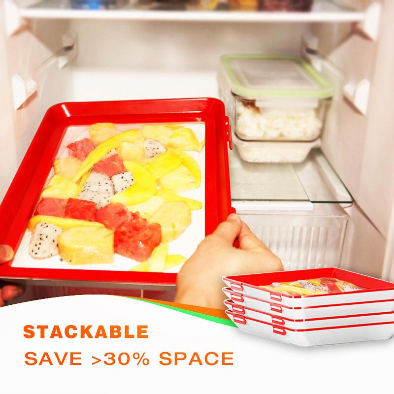(75% OFF) Rectangle Food Preservation Tray