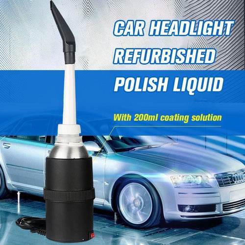 Car Headlight refurbished Polish Liquid