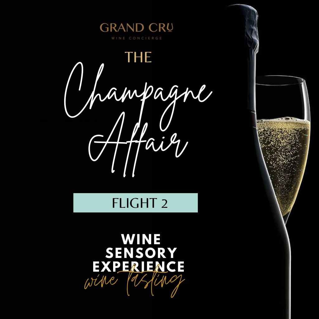 Wine Sensory Experience: Champagne Affair (Flight 2 - Dosage)