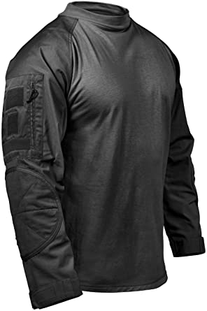 Rothco Combat Shirt - Black