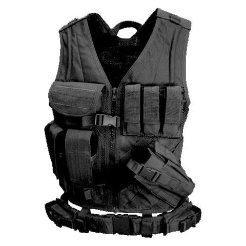 Cross Draw Vest - Black