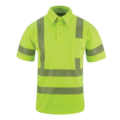 Propper Men's ANSI III Polo - Short Sleeve III - Hi-Viz Yellow