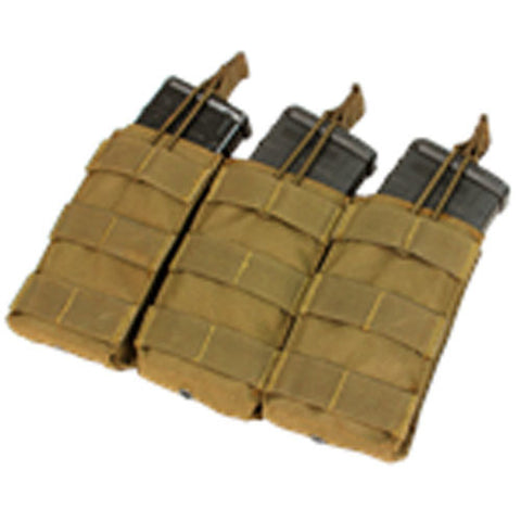 Condor triple open top mag pouch for M4 / M16 mags