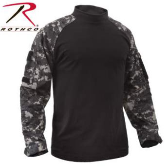 Rothco Combat Shirt - Subdued Urban