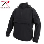 Rothco Concealed Carry Soft Shell Anorak - Black