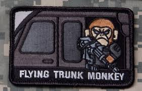 Flying Trunk Monkey