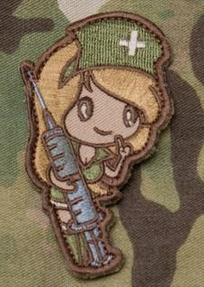Nurse Girl/Rifle Girl Patch