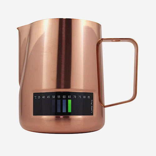 Milk Pitcher (with integrated thermometer) Latte Pro 480ml/600ml