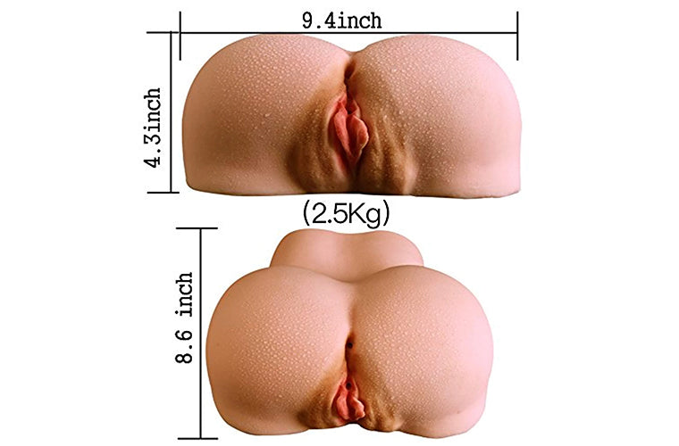 Sex Virgin Pussy Ass for Male Realistic Butt Anal Vagina Adult Sex Toys for Men