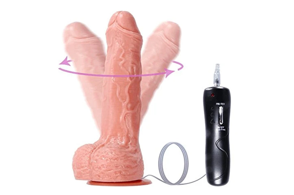 Vibrating Dildo 6.88'' Realistic Cock with Suction Cup