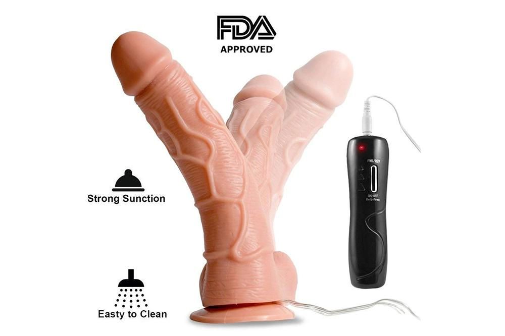 Huge Vibrating Dildo for Orgasm Rabbit Adult Viberate Toy Women