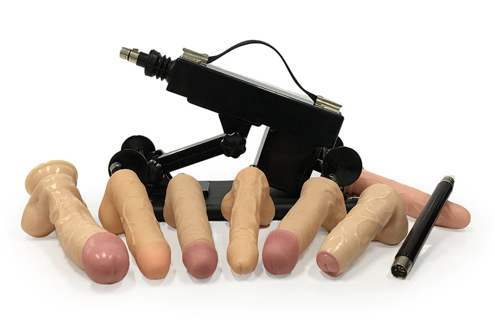 New Women Sex Machine with 7 Real Big Dildos