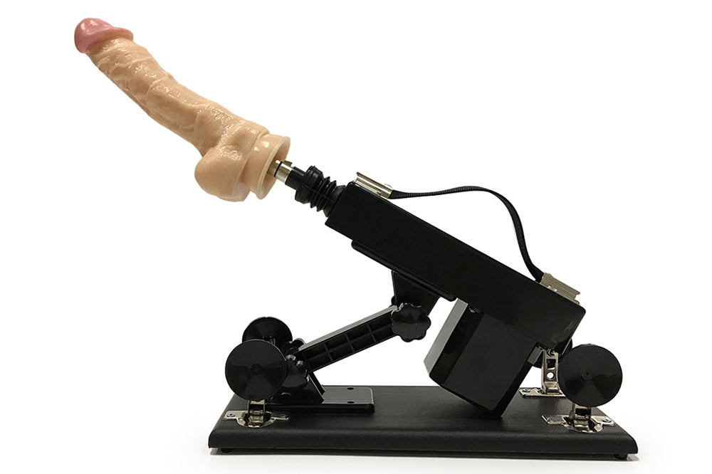 New Sex Machines with Huge Dildo