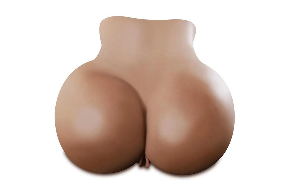 Silicone Made Sex Doll Realistic Huge Ass Black Discreet Package