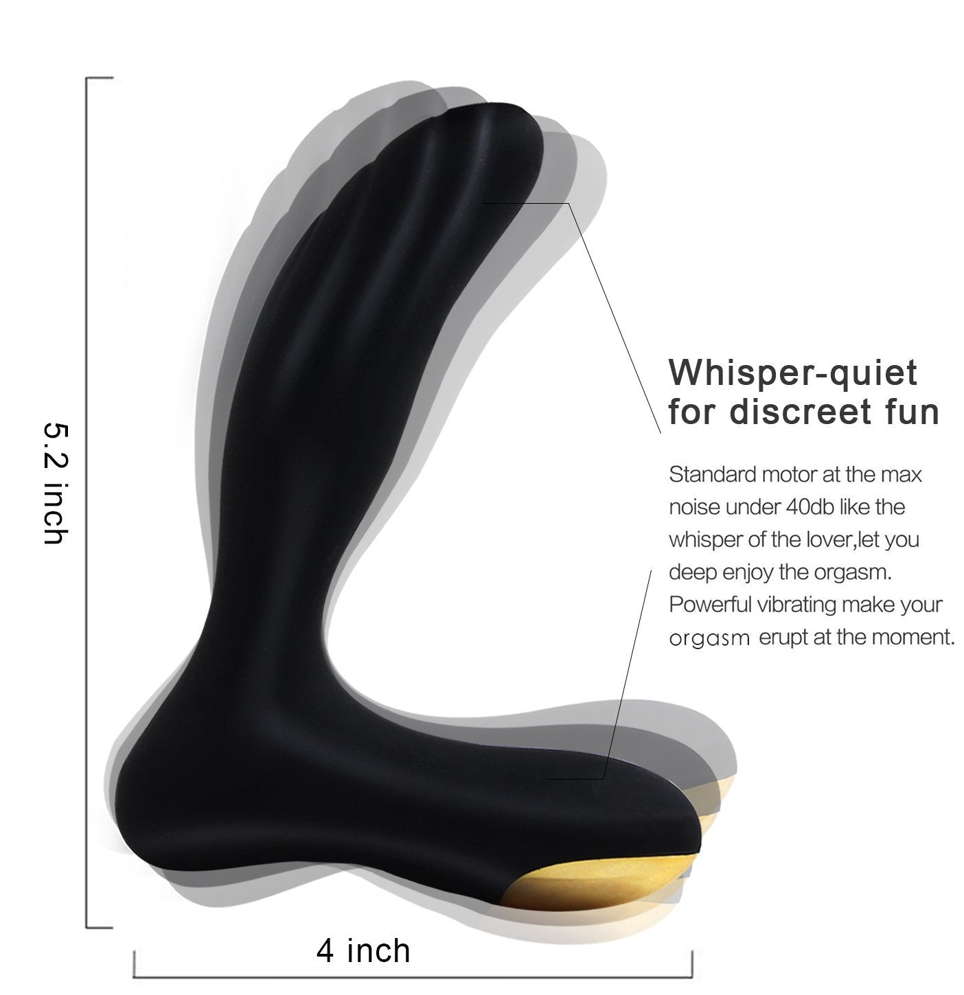 Male Vibrating Prostate Massager