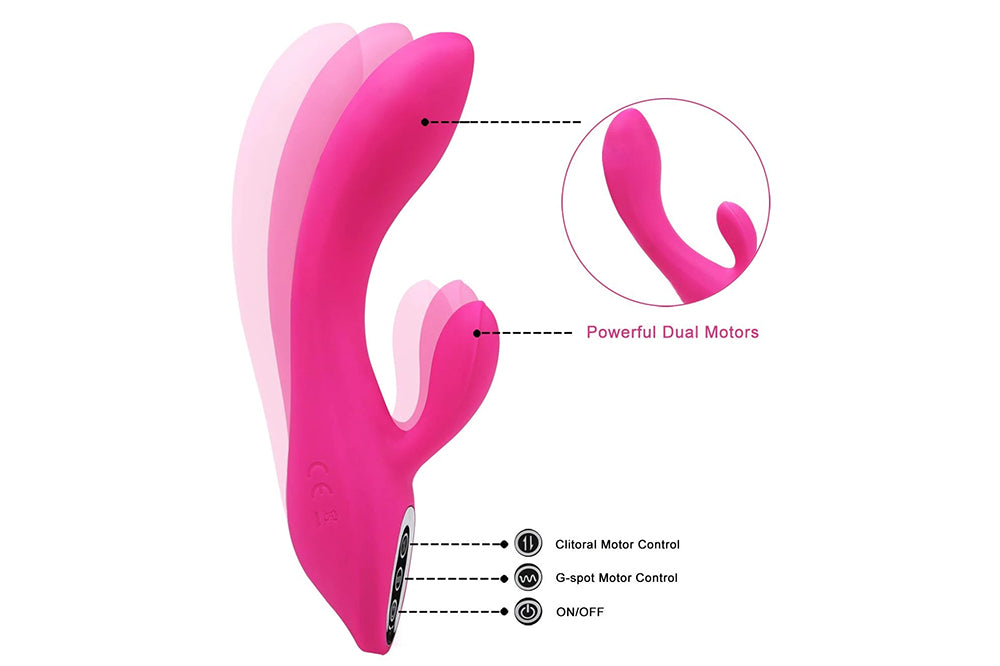 G-Spot Rabbit Dildo Vibrator Adult Sex Toys for Women