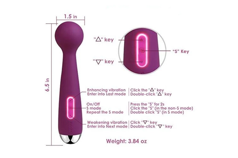 Best Vibrator for Clitoral Stimulation for Women Original with 6 Vibration Modes