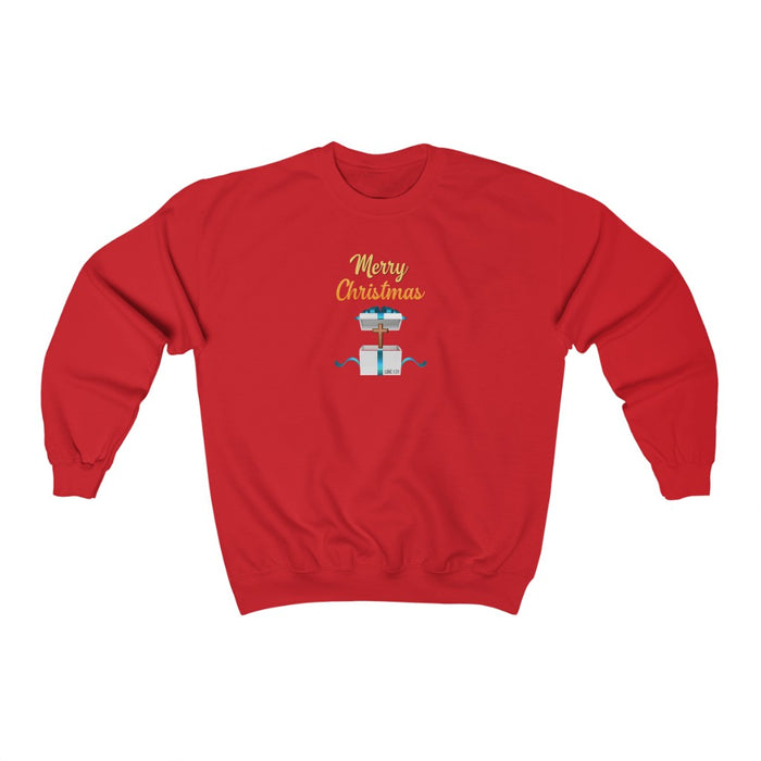 Merry Christmas Women Unisex Heavy Blend™ Crewneck Sweatshirt