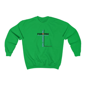 Jesus Died For You Women Unisex Heavy Blend™ Crewneck Sweatshirt