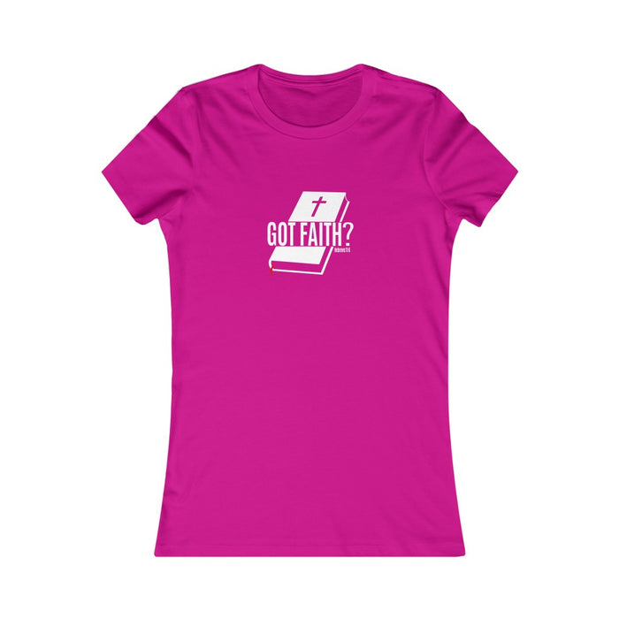 Got Faith Women's Favorite Tee