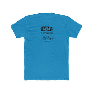 Jesus is the Way Men's Cotton Crew Tee