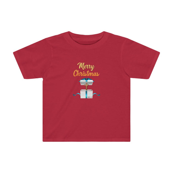 Merry Christmas Kids Tee 2T - 4T