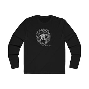 Whom Shall I Fear Men's Long Sleeve Crew Tee