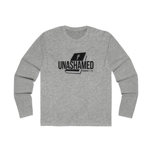 Unashamed Men's Long Sleeve Crew Tee
