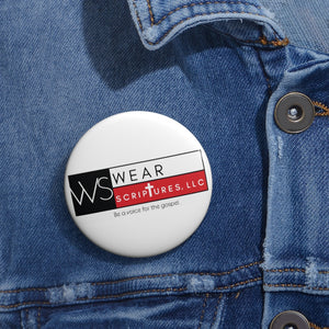 Wear Scriptures Custom Pin Buttons