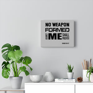No Weapon Canvas Gallery Wraps