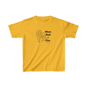 Whom Shall I Fear Kids Heavy Cotton™ Tee