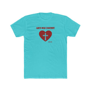 God's New Covenant Men's Cotton Crew Tee