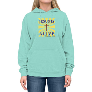 Jesus Is Alive Men's Unisex Lightweight Hoodie