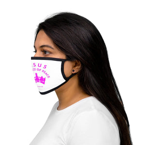 Jesus the Prince of Peace Mixed-Fabric Face Mask