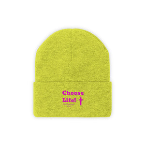 Choose Life 2.0 Knit Beanie