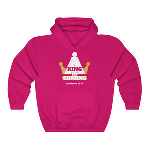 A King Is Coming Women's Unisex Heavy Blend™ Hooded Sweatshirt