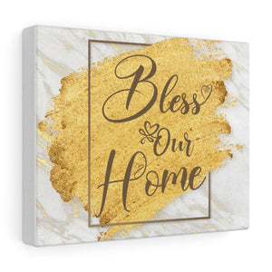 Bless Our Home Canvas Gallery Wraps