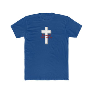Emmanuel God With Us Men's Cotton Crew Tee