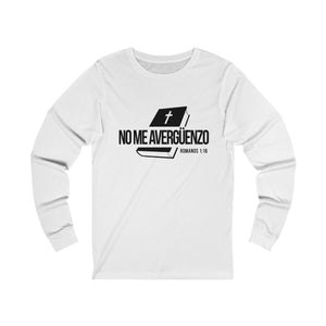 No Me Avergüenzo Unisex Jersey Long Sleeve Tee