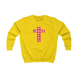 Jesus Saves Kids Sweatshirt