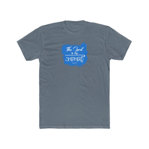 The Lord is My Shepherd Men's Cotton Crew Tee
