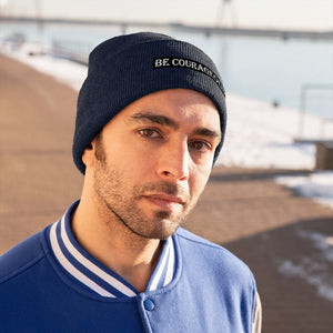 Be Courageous Knit Beanie