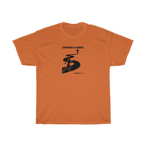 Corriendo Mi Carrera Men Unisex Heavy Cotton Tee