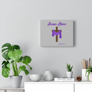 Jesus Lives Canvas Gallery Wraps