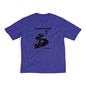 Corriendo Mi Carrera Men's Heather Dri-Fit Tee